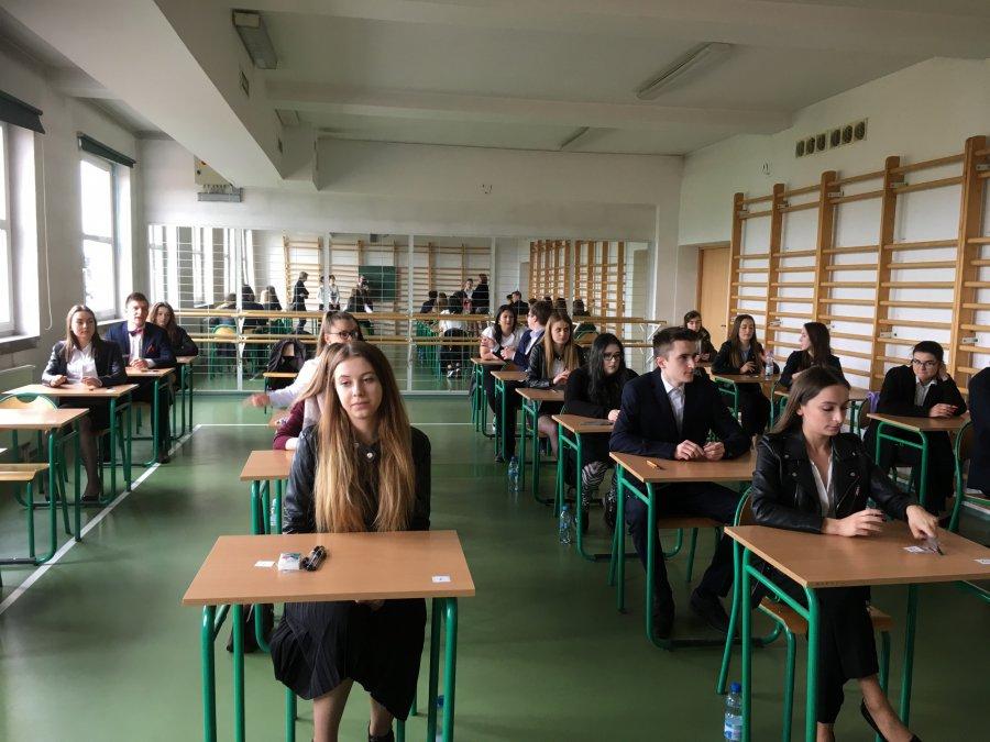 Ponad sześciuset maturzystów przystąpiło do egzaminu