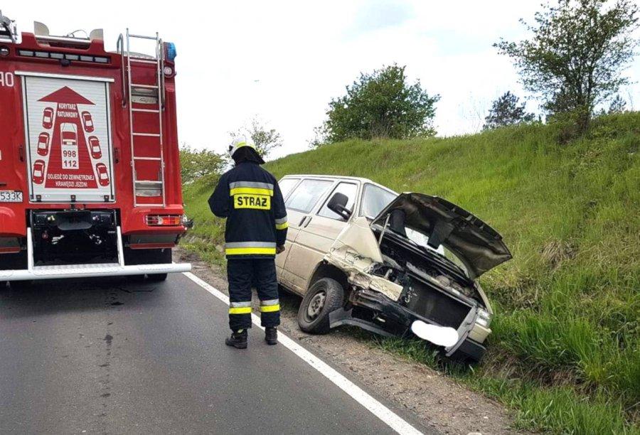 Zderzyły się dwa samochody