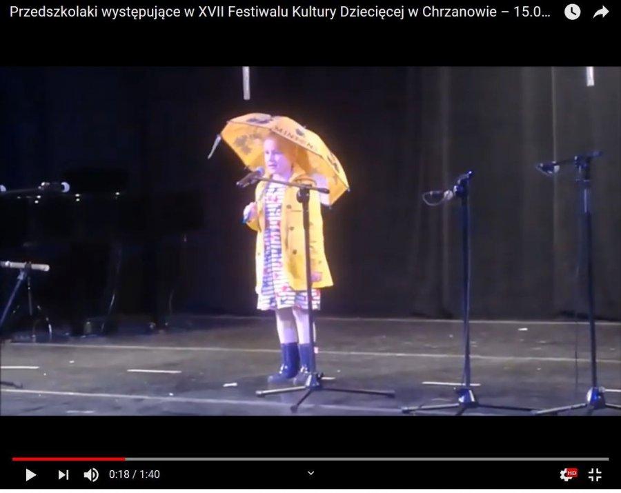 Przedszkolaki nie miały tremy na scenie (WIDEO)