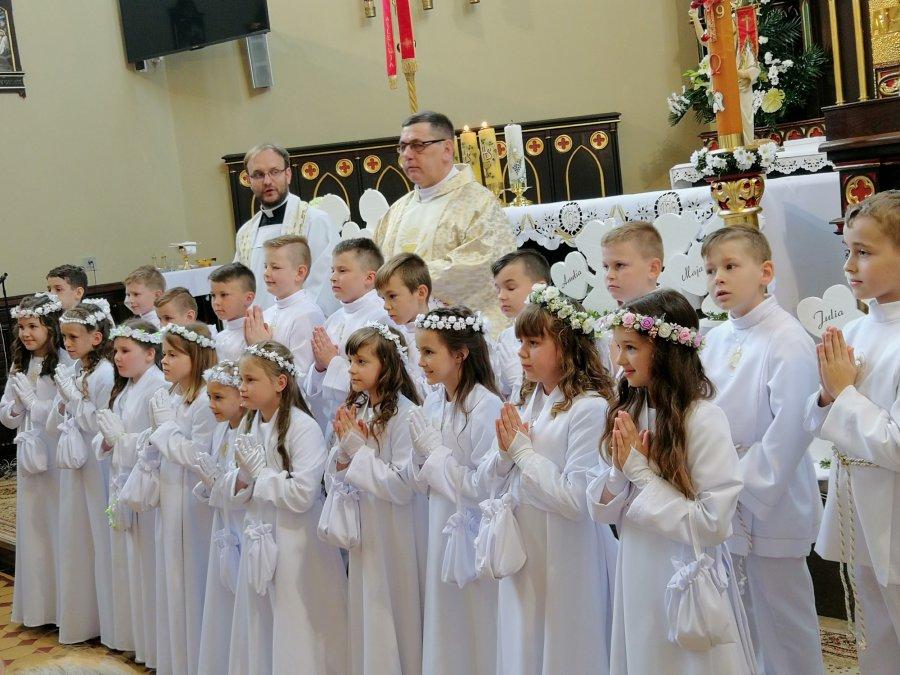 I Komunia św. w Krystynowie. Najpiękniejszy z wszystkich dni