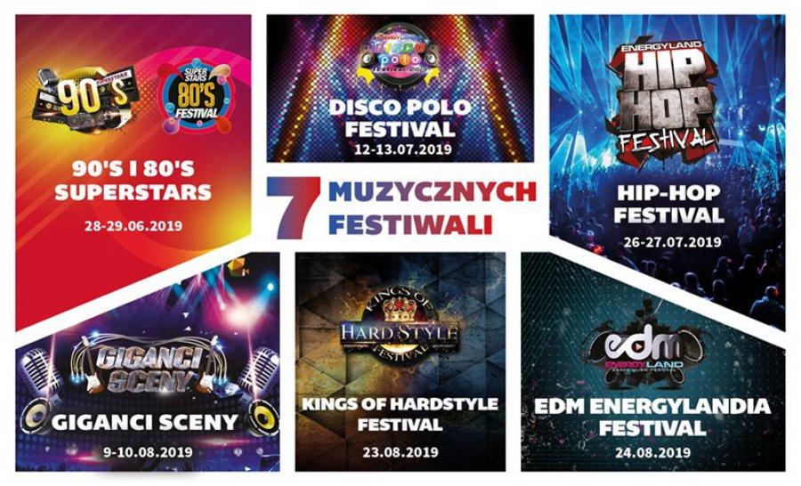 Energylandia stolicą festiwali - poznaj muzyczne wydarzenia organizowane przez  największy park rozrywki w Polsce!