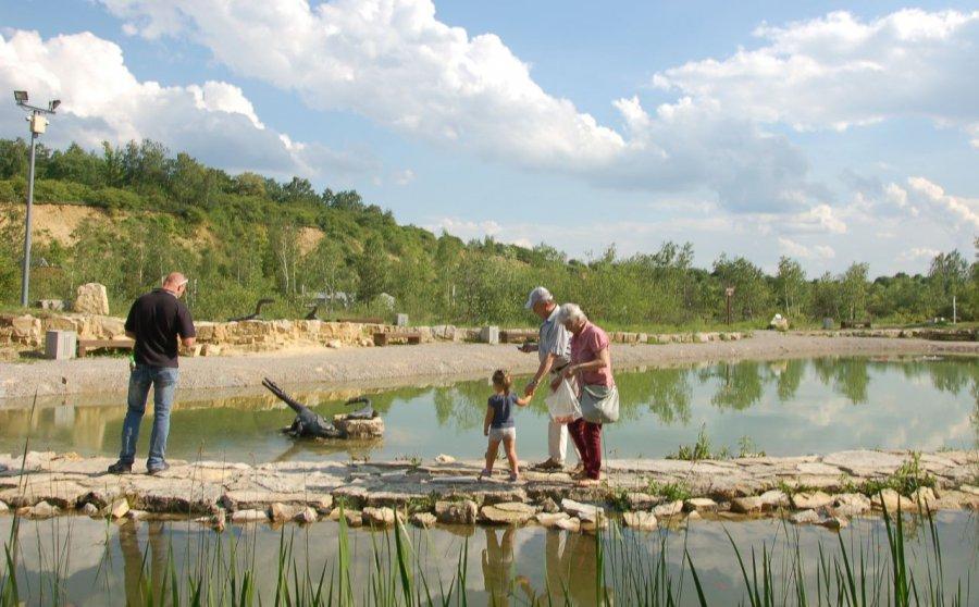 Odwiedź Geosferę - magiczne wrota do prehistorii (WIDEO)