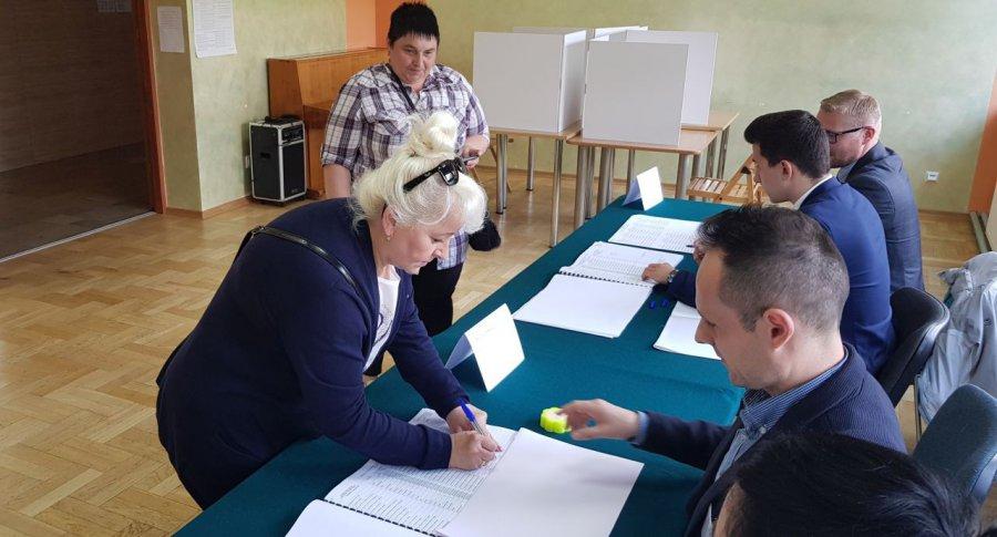Najwięcej wyborców głosowało w gminie Babice