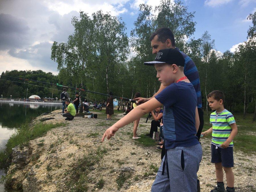 Dzień Dziecka z wędką na Balatonie