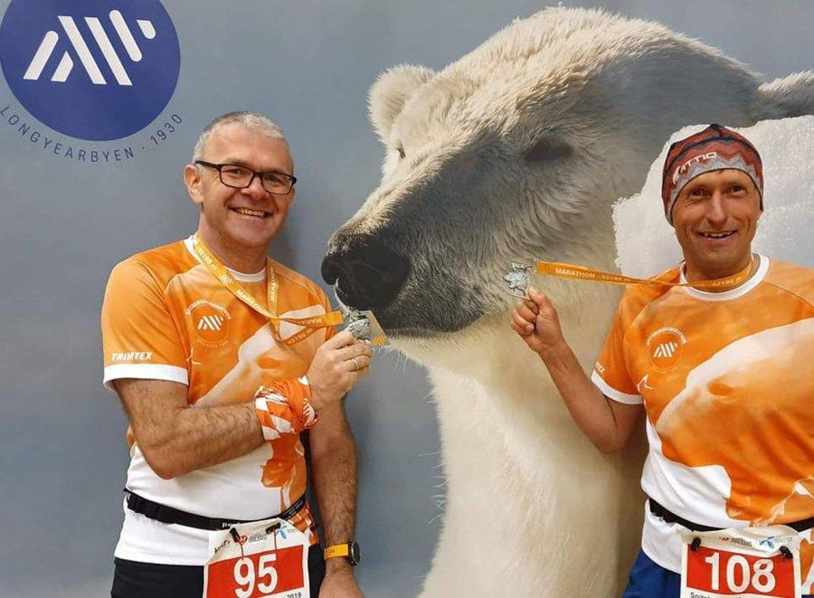 Przebiegli maraton na ... Spitsbergenie