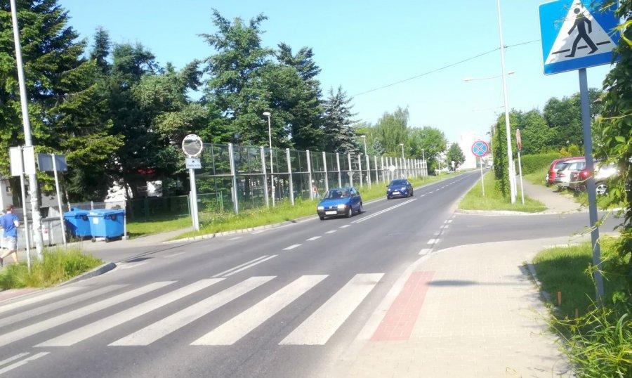 Kierowców czekają utrudnienia na drodze przy przedszkolu