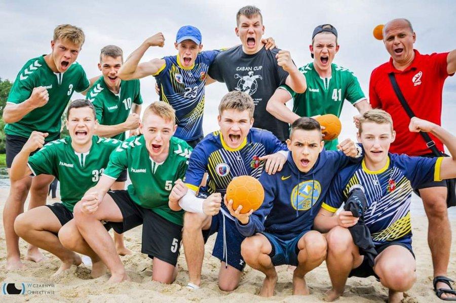 W mistrzostwach kraju na plaży pokazali lwi pazur