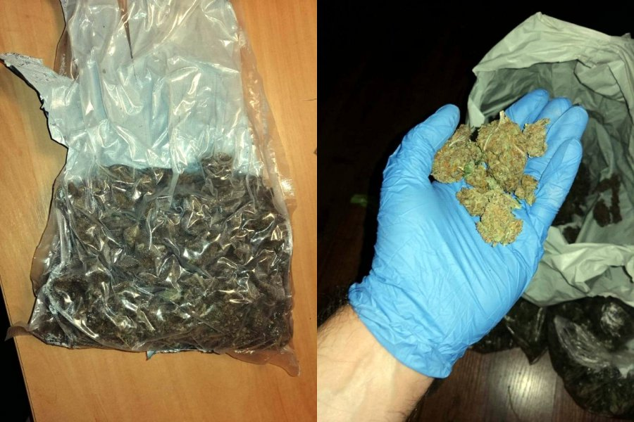 Narkotyki w mieszkaniu i lexusie
