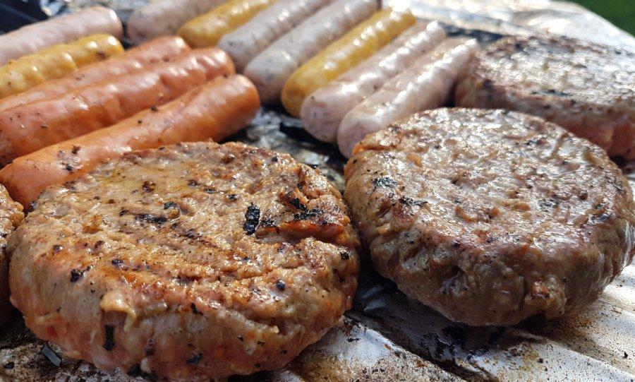 Hamburgery z grilla
