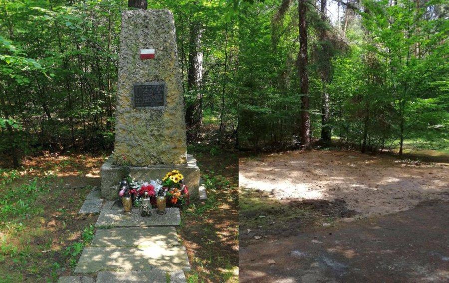 Usunęli pomnik partyzantów
