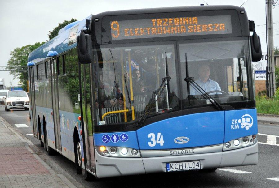 Dodatkowe autobusy pojadą z Trzebini