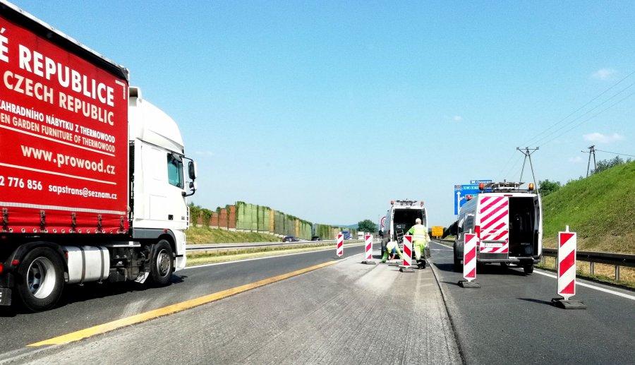 Uwaga! Roboty na autostradzie A4