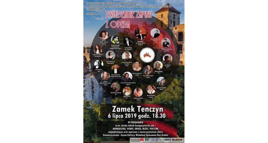 Zwiedzanie Tenczyna z operą