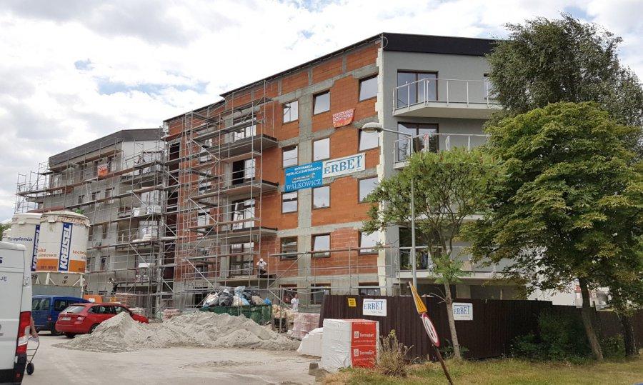 Nowe bloki w mieście