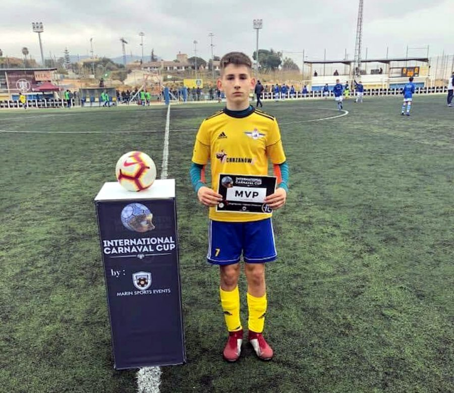 Piłkarz z Chrzanowa zagra w Legii Warszawa