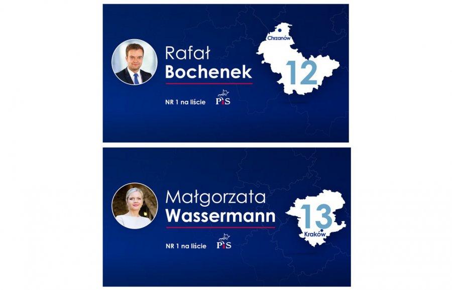 """To oni w naszych okręgach będą """"jedynkami"""" PiS do Sejmu"""