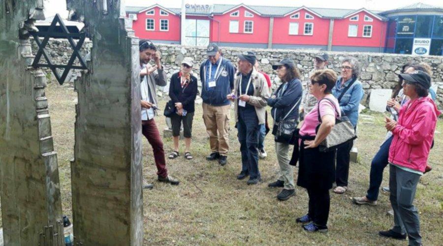 Żydzi z Ameryki odwiedzili Trzebinię
