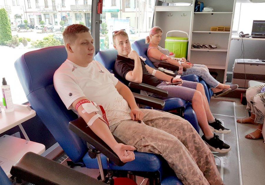 Oddawali krew dla innych