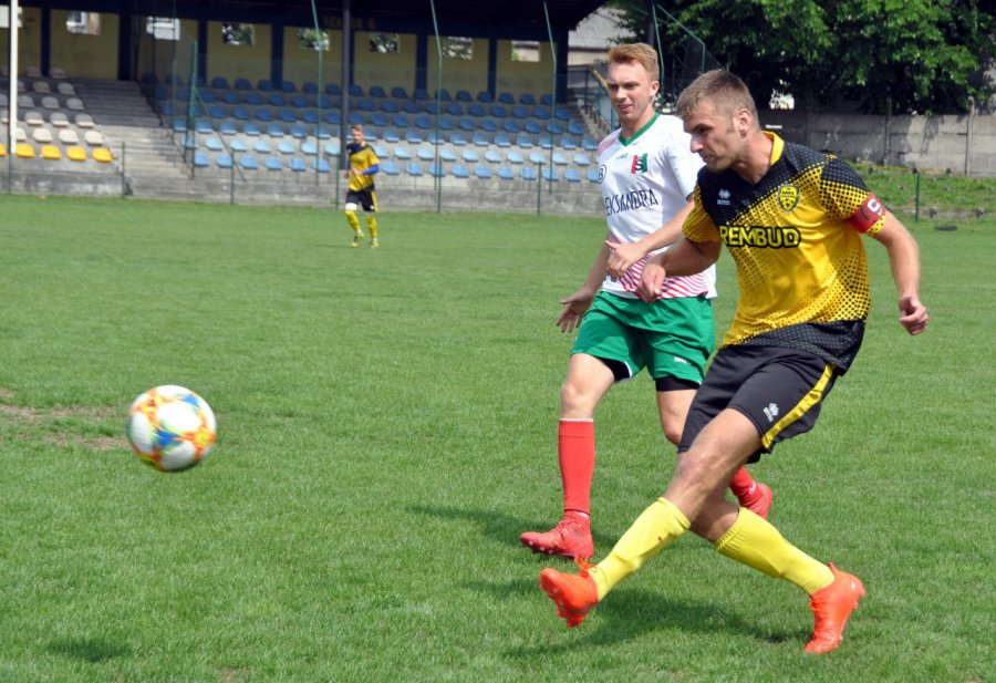 Próba generalna zwycięska dla Trzebini. Piłkarz Wisły Kraków dołączył do MKS (WIDEO, ZDJĘCIA)