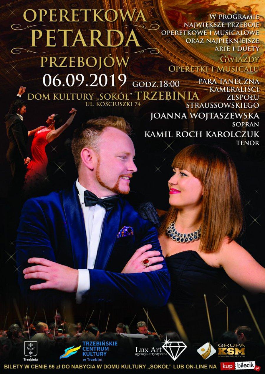 Najgorętsza para operetkowa w Polsce zawita do Trzebini!