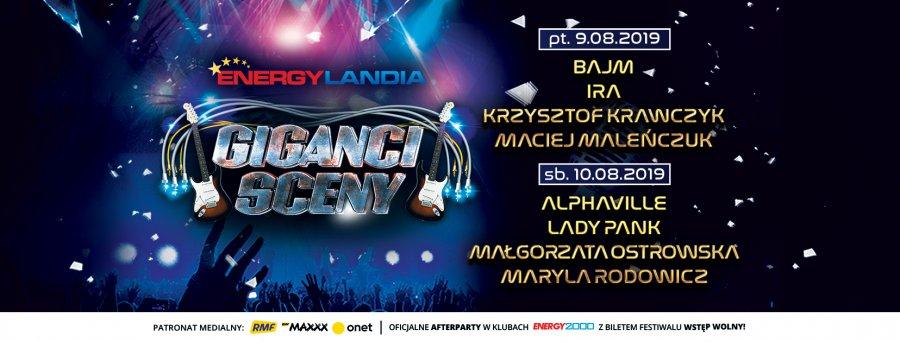 Legendarne zespoły w Energylandii już 9 i 10 sierpnia!