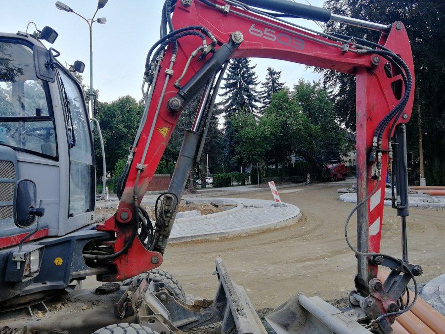 Nowe rondo czeka na asfalt