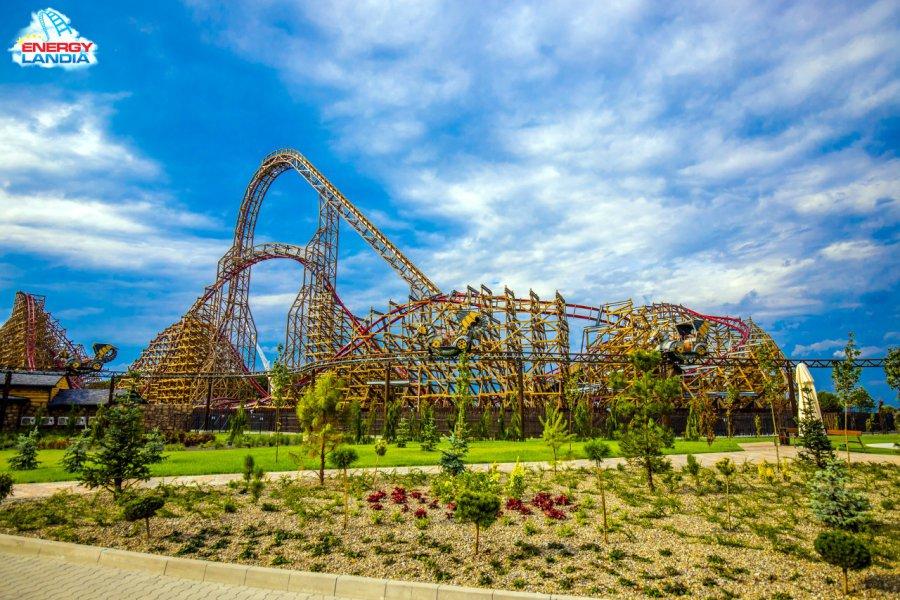 Najwyższy na świecie drewniany rollercoaster 20 kilometrów od Chrzanowa