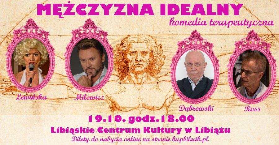 """19 października """"Mężczyzna idealny"""" przeprowadzi terapię śmiechem w Libiążu!"""