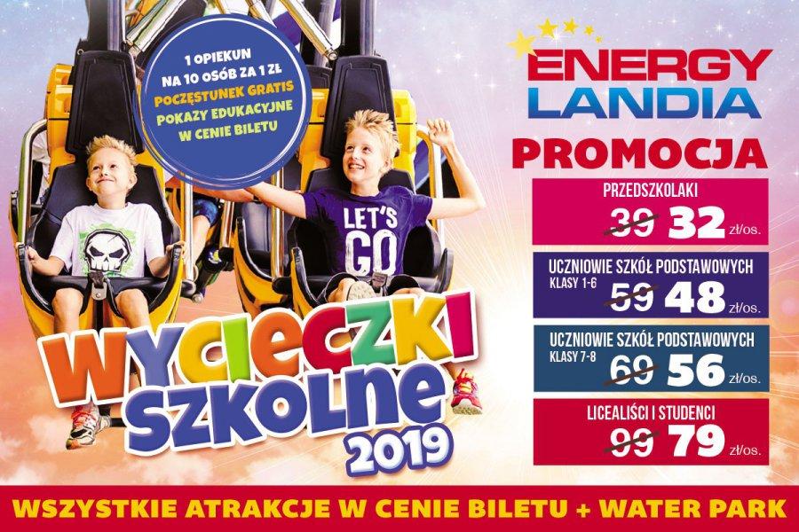 W Energylandii wystartowała promocja dla szkół!