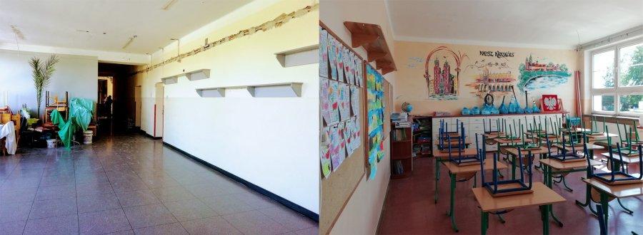 Rok szkolny trwa i remonty też trwają