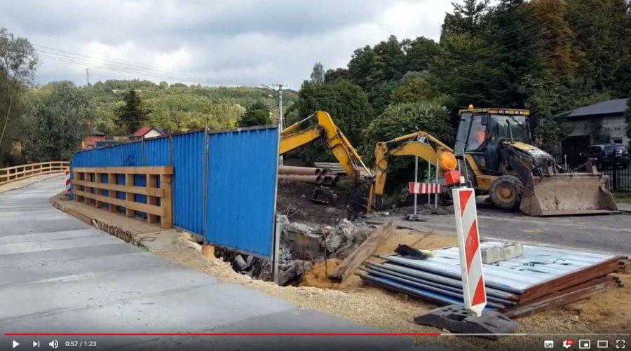 Zobacz przebudowę mostu (WIDEO)
