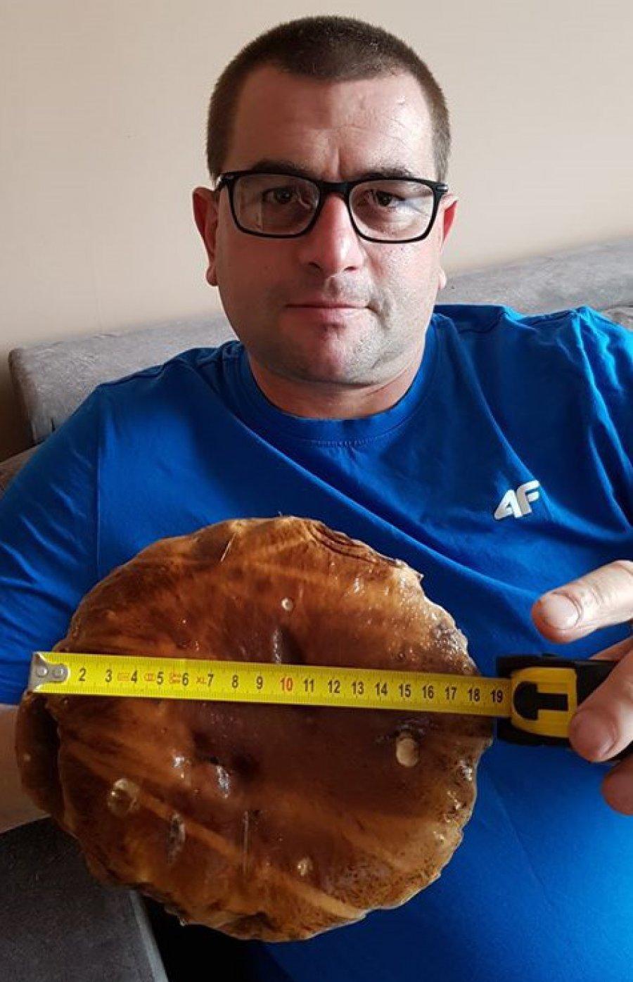 Udane grzybobranie pana Marcina z Libiąża