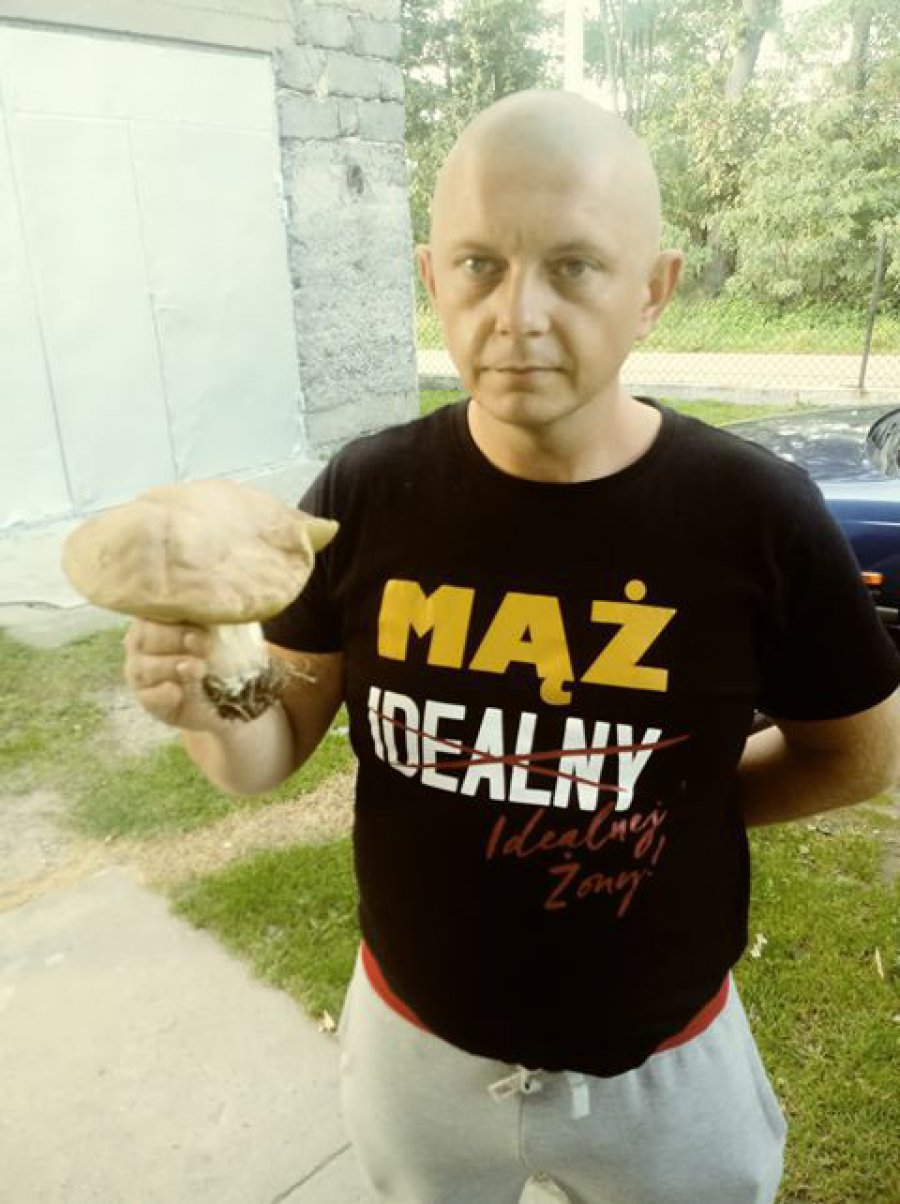 Piękny okaz pana Marcina