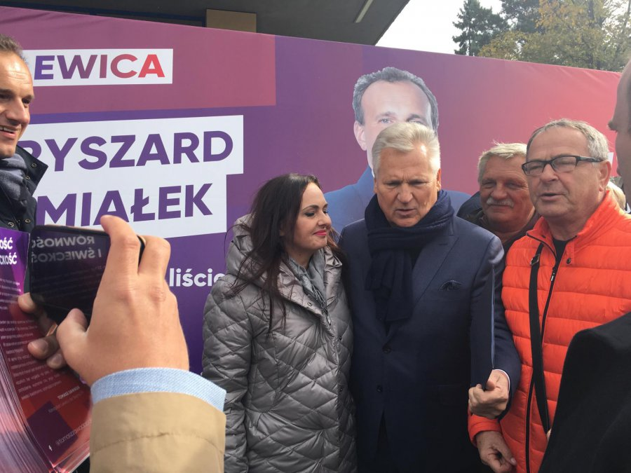Kwaśniewski w Chrzanowie: Polacy nigdy nie byli tak podzieleni (WIDEO, ZDJĘCIA)