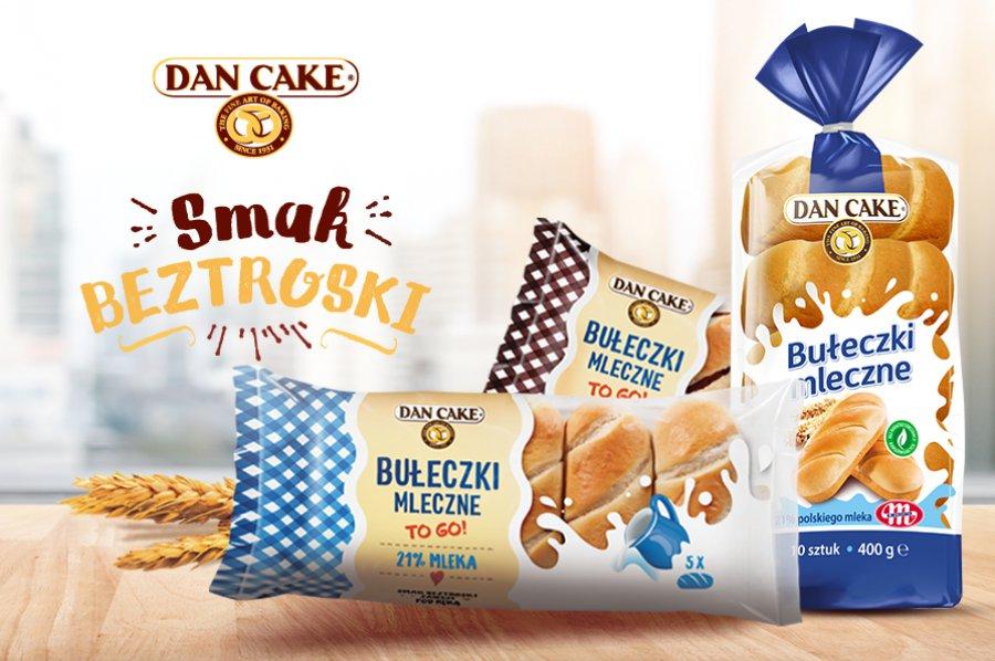 Bułeczki Mleczne – nowa odsłona smakowa bestselleru Dan Cake