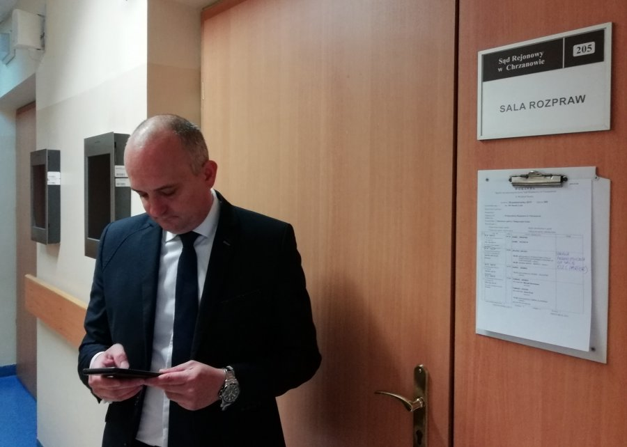 Rozpoczął się proces karny byłego burmistrza i byłego kierownika inwestycji