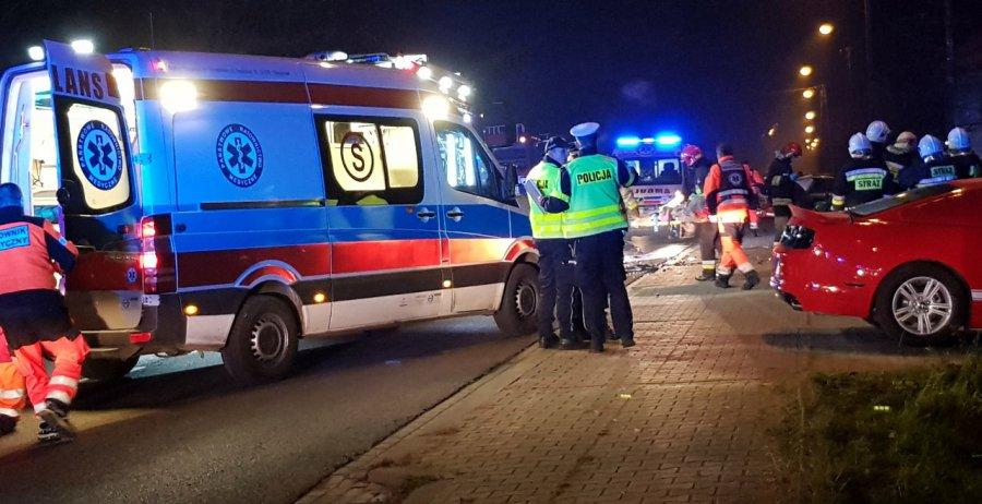 Policja szuka sprawcy wypadku na krajówce i apeluje o pomoc
