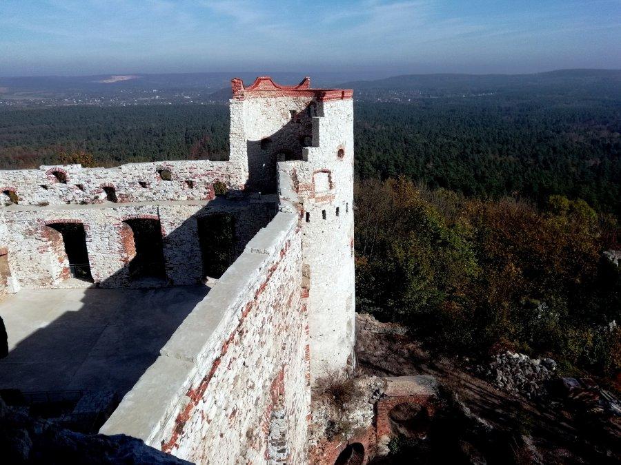 Co zmieniło się na zamku Tenczyn (WIDEO)