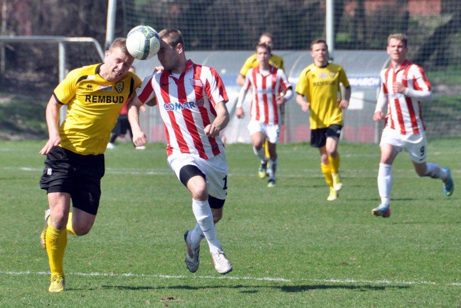 Piłkarze z Trzebini na koniec zagrają z zespołem Cracovii (ZDJĘCIA)