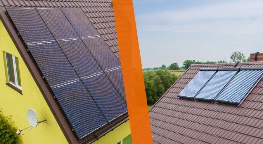 Panele słoneczne czy kolektory słoneczne, co wybrać?