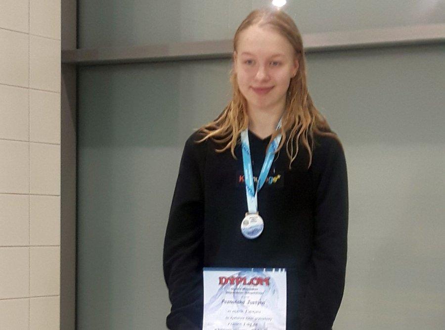 Justyna Poznańska z Libiąża mistrzynią Małopolski w pływaniu