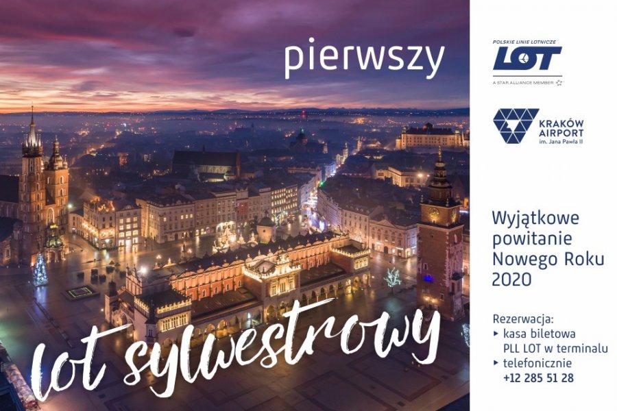 Niekonwencjonalny sylwester nad Krakowem