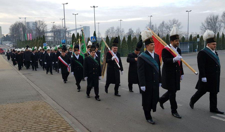 Górnicy z Libiąża świętują Barbórkę (WIDEO)