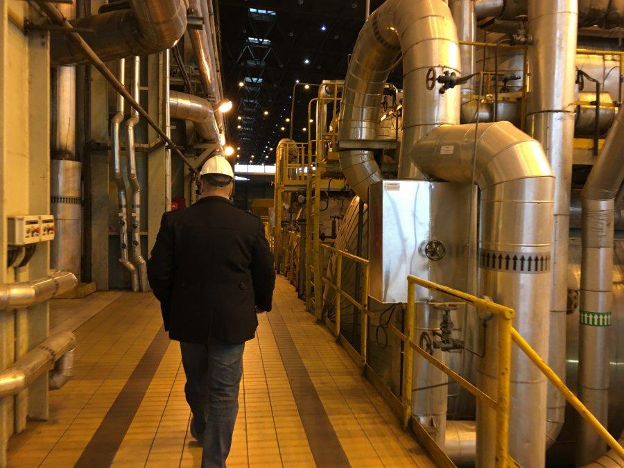 Dyrektor elektrowni Siersza: Chcemy nie tylko burzyć, ale też budować (WIDEO)