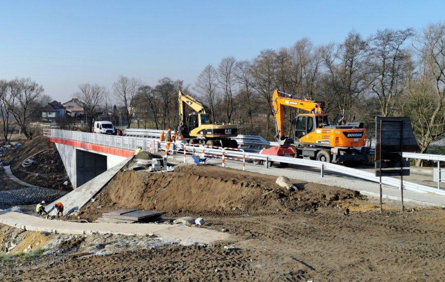 Zobaczcie nowy most na granicy gmin Babice i Libiąż (WIDEO, ZDJĘCIE)