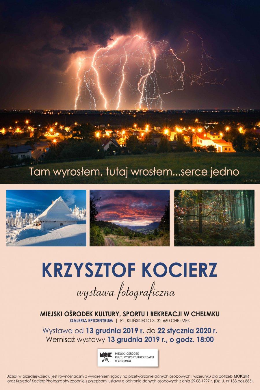 """""""Tam wyrosłem, tutaj wrosłem...serce jedno"""" - wystawa Krzysztofa Kocierza!"""