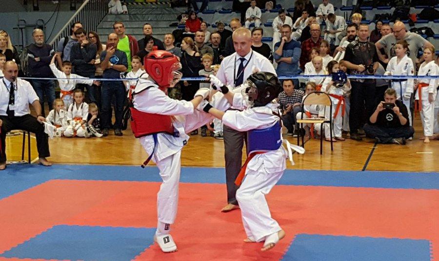 Mali karatecy rozgrzali publiczność (WIDEO, ZDJĘCIA)