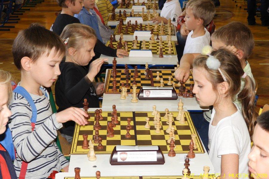 160 młodych szachistów rywalizowało w Trzebini