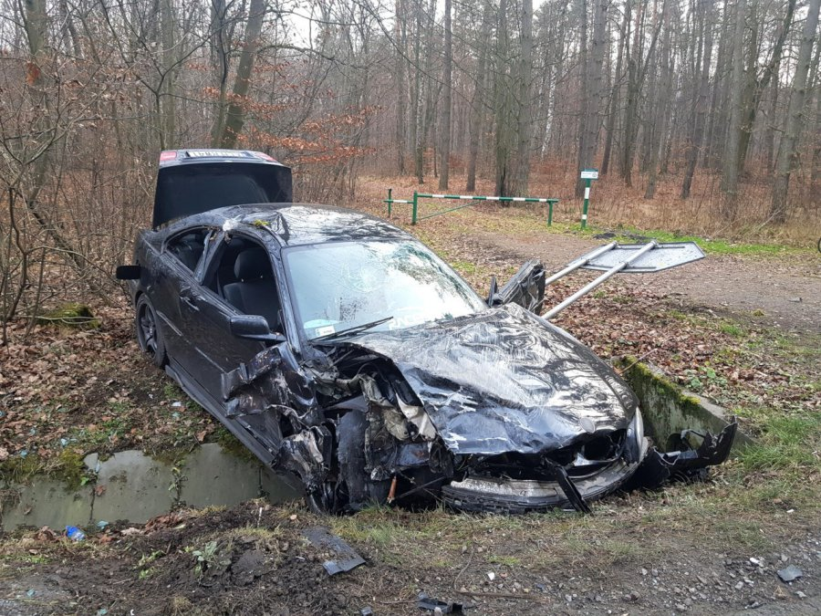 Był wypadek. Dwie osoby poszkodowane
