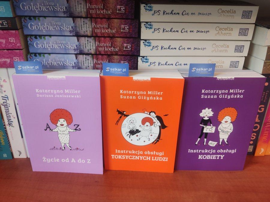 Bestsellery Katarzyny Miller dostępne w księgarni internetowej selkar.pl
